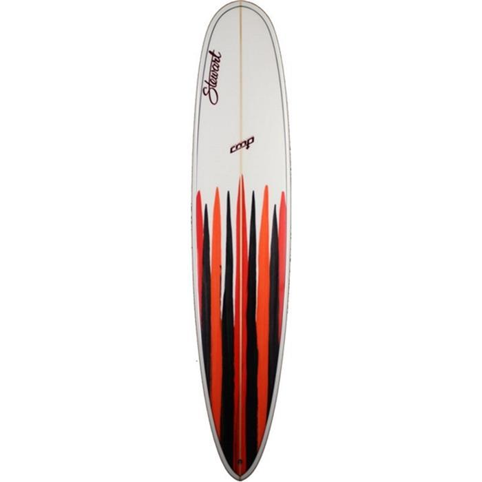 Surf 92326 Longboard Stewart Cmp Board Whiteoranblkred Pu Ltd ZHqvd8fS