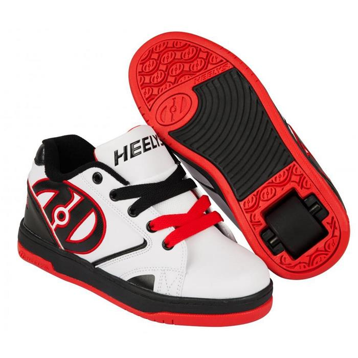 75305f2215bd42 Chaussures à roulettes HEELYS Propel 2.0 White/Black/Red | HOTMER