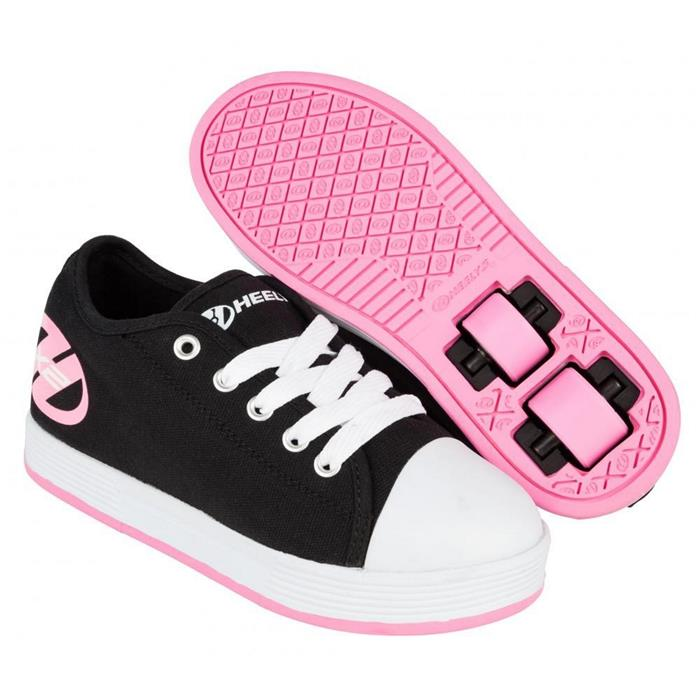 Chaussures BlackPinkHOTMER Fresh HEELYS roulettes à X2 ID9WEeH2Y