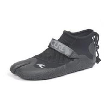 chausson néoprène REEFER LOW 1,5 mm Split  RIP CURL  Noir/Charcoal