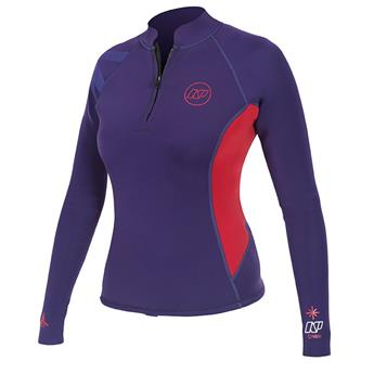 Top Neo Femme Spark L/S Top 2mm NP 2016 XL C4 Purple / Red