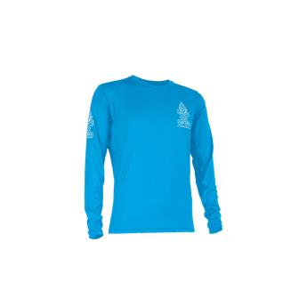 Top  LONG SLEEVE LYCRA  Homme STARBOARD  Manches Longues Gris-Bleu (Team)