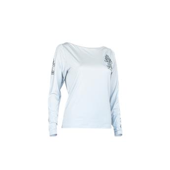 Top LONG-SLEEVE LYCRA Femme STARBOARD  Manches Longues Gris