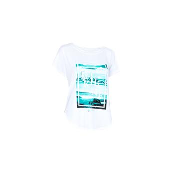 T-shirt TIKHINE LUNAR TEE Femme STARBOARD  Manches Courtes Blanc Taille L