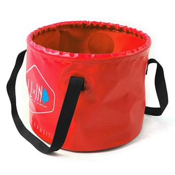 Sac-Douche-Bucket CLEAN KIT ALL IN  Couleur Red