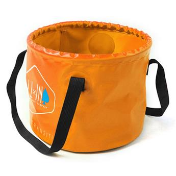 Sac-Douche-Bucket CLEAN KIT ALL IN  Couleur Orange