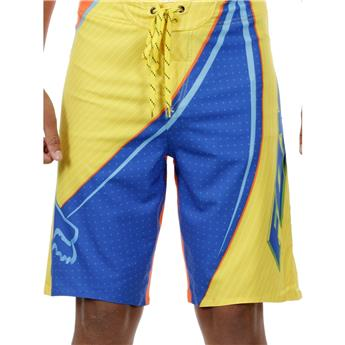 fox flight boardshort blazing yellow 30