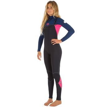 Intégrale Femme  Womens FLASH-BOMB 4/3 Steamer  RIP CURL NAVY