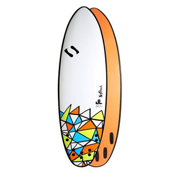 Surf - JAKE LEVY DSS - SOFTECH Taille 5´8´´ Couleur Blanc