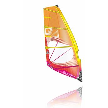 Voile Windsurf IQ GAASTRA 2016 C3 Orange Rouge