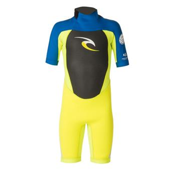 Combinaison Shorty Junior JNR DAWN PATROL BZ S/S SPRINGSUIT RIP CURL F.LEMON