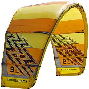 Aile Kitesurf Nue CHAOS CABRINHA 2017 C3 Yellow/Orange