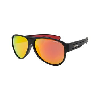 Lunette Flottante BEER BOMB BOMBER EYEWEAR MATTE BLACK FRM / RED MIRROR POLARIZE LENS / RED FOAM