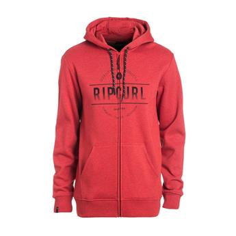 Sweat Capuche ROUNDED RIP ZT HOOD RIPCURL (9347) POMPEIAN RED MARLE