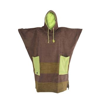 Poncho Surf ORGANIC V Poncho Surf ALL IN SPORT BEACH COMPANY Brown Anis