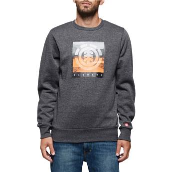 Sweat Shirt ROLLING CR ELEMENT Charcoal Heather