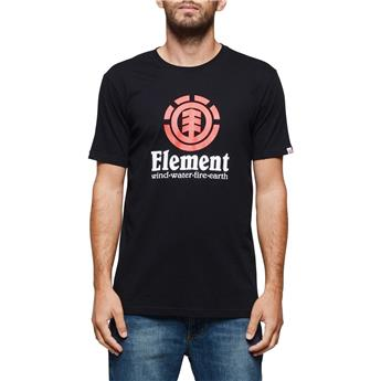 T-Shirt VERTICAL SS ELEMENT Flint Black