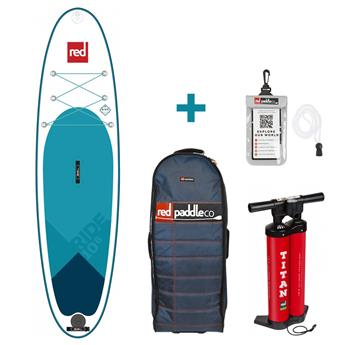 Sup Gonflable RIDE MSL FUSION RED PADDLE 10´6´´x32´´x4.7´´ 240 Litres