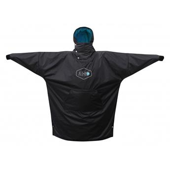 Poncho Surf THOMAS TRAVERSA STORM ALL IN SPORT BEACH COMPANY Black Turquoise