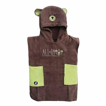 Poncho Surf BABY LITTLE DRAGON  ALL IN  Couleur Brown/Anis