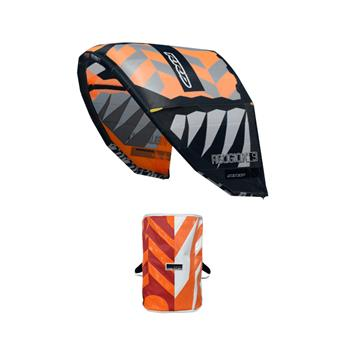 Aile de Kitesurf RELIGION MKVII 7 KBO RRD Orange/Grey 7 m²