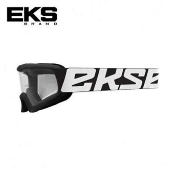 Masque moto, VTT EKS xgrom mirror black / white