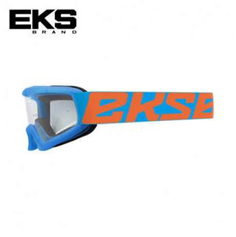 Masque moto, VTT EKS xgrom cyan / flo orange