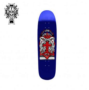 Deck skateboard DOGTOWN x SUICIDAL shape scott oster pool blue 8.875