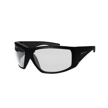 Lunette Flottante AHI-BOMB BOMBER EYEWEAR MATTE BLACK FRAME /  PHOTOCHROMIC POLARIZED SAFETY LENS / GRAY FOAM
