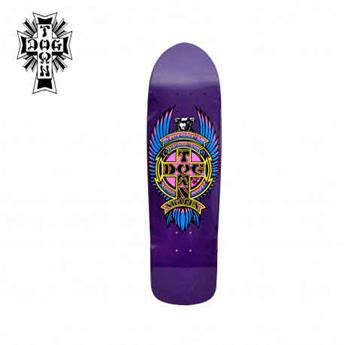 Deck skateboard DOGTOWN x SUICIDAL shape eric dressen pool purple 8.875