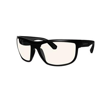Lunette Flottante HUB-BOMB BOMBER EYEWEAR MATTE BLACK FRAME /  PHOTOCHROMIC POLARIZED SAFETY LENS / GRAY FOAM