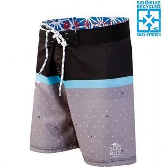 Boardshort 4-WAY MID BUDDY SOORUZ Black