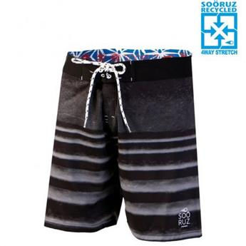 Boardshort 4-WAY MID LINES SOORUZ  Black