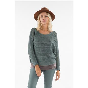 Pull Over Femme JUMPER SURFWEAR BILLABONG DANCE WITH ME 3158 SUGAR PINE