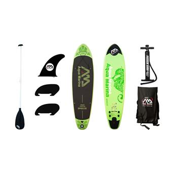 Pack Sup Gonflable + Pagaie paddle BREEZE AQUA MARINA 9´9´´x30´´x4´´