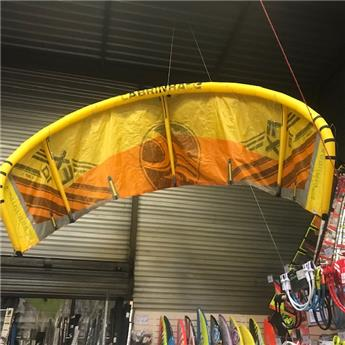 Aile Kitesurf Nue FX CABRINHA 2017 C3 Yellow/Orange 10,0 m² Occasion A