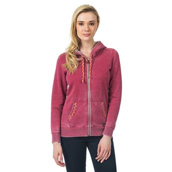 Sweat Zip Femme MANOLA FLEECE RIP CURL 1039 EARTH RED