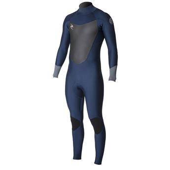 Combinaison Intégrale Watersport  DAWN PATROL Back Zip 5/3 GB Steamer RIP CURL 49 Navy