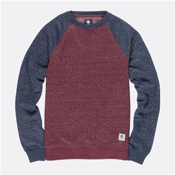 Sweatshirt MERIDIAN BLOCK CR ELEMENT 4172 Napa Red