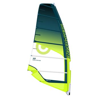 Voile Windsurf Freerace V8 NEILPRYDE 2018 C3 blue/yellow