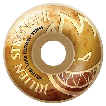 Roues Skate F4 99D STRANGER LIFER SPITFIRE Gold 53 mm