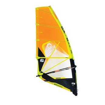 Voile Windsurf Vague GAASTRA Manic HD 2018 C2 Orange 4.2