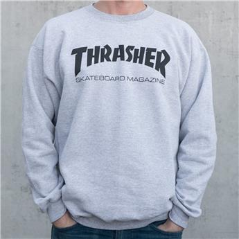 Sweat TRASHER SKATE MAG Grey