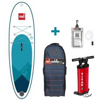 Sup Gonflable RIDE MSL FUSION RED PADDLE 9'8''x31´´x3.93´´ 193 litres