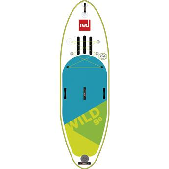 Sup Gonflable Rivière Wild MSL Fusion RED PADDLE 9´6´´x34´´x5.90´´