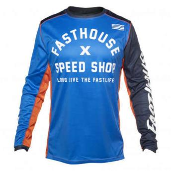 maillot moto FASTHOUSE  heritage blue