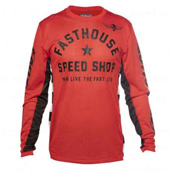 maillot moto FASTHOUSE  originals aircooled red