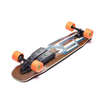 skateboard électrique LOADED LONGBOARDS unlimited complete tesseract blue cruiser