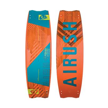 Twintip Kitesurf APEX AIRUSH 2018 complète (board + straps + Ailerons)