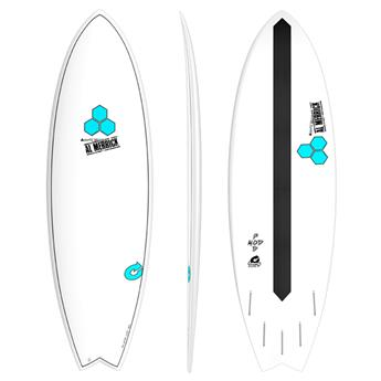 Board Surf Epoxy Fish PODMOD XLite Channel Island TORQ White (PRP01)